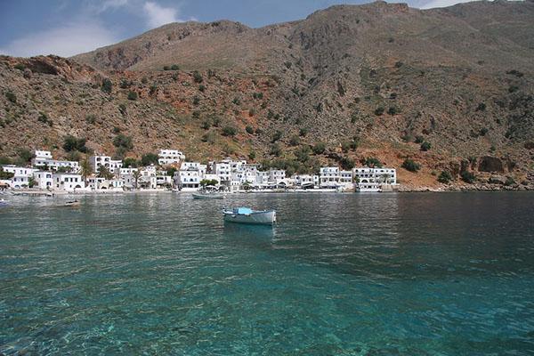 Loutro, Crete's southern coast