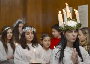 Santa Lucia (St. Lucia Day, Sofia University)