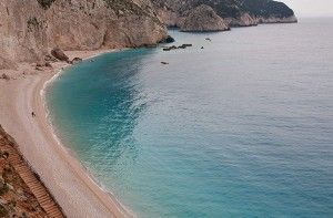 Porto Katsiki beach (The Pindus, Vikos Gorge, and Lefkada Island, Greece)