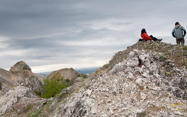 Скалички над селото