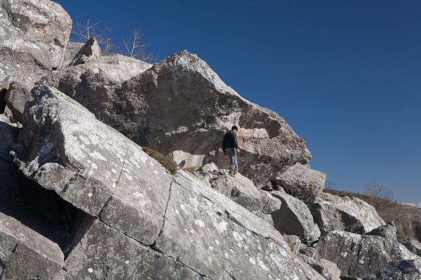 Срутище в Понор планина