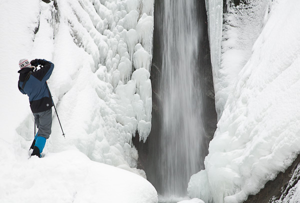 Симпатичен водопад в Беласица над село Камена