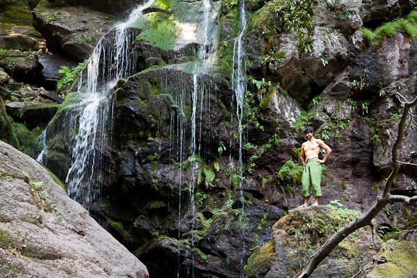 Голямо копренско водопадено налазвало - ендемит
