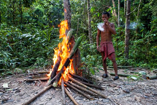 Човек от джунглата