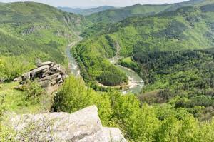 Реката, някъде там долу (Източни Родопи 2014)