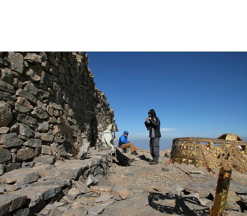 Профитис Илиас (2456м), най-виският връх на Псилоритис